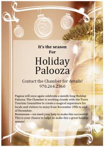 Holiday Palooza (General info)