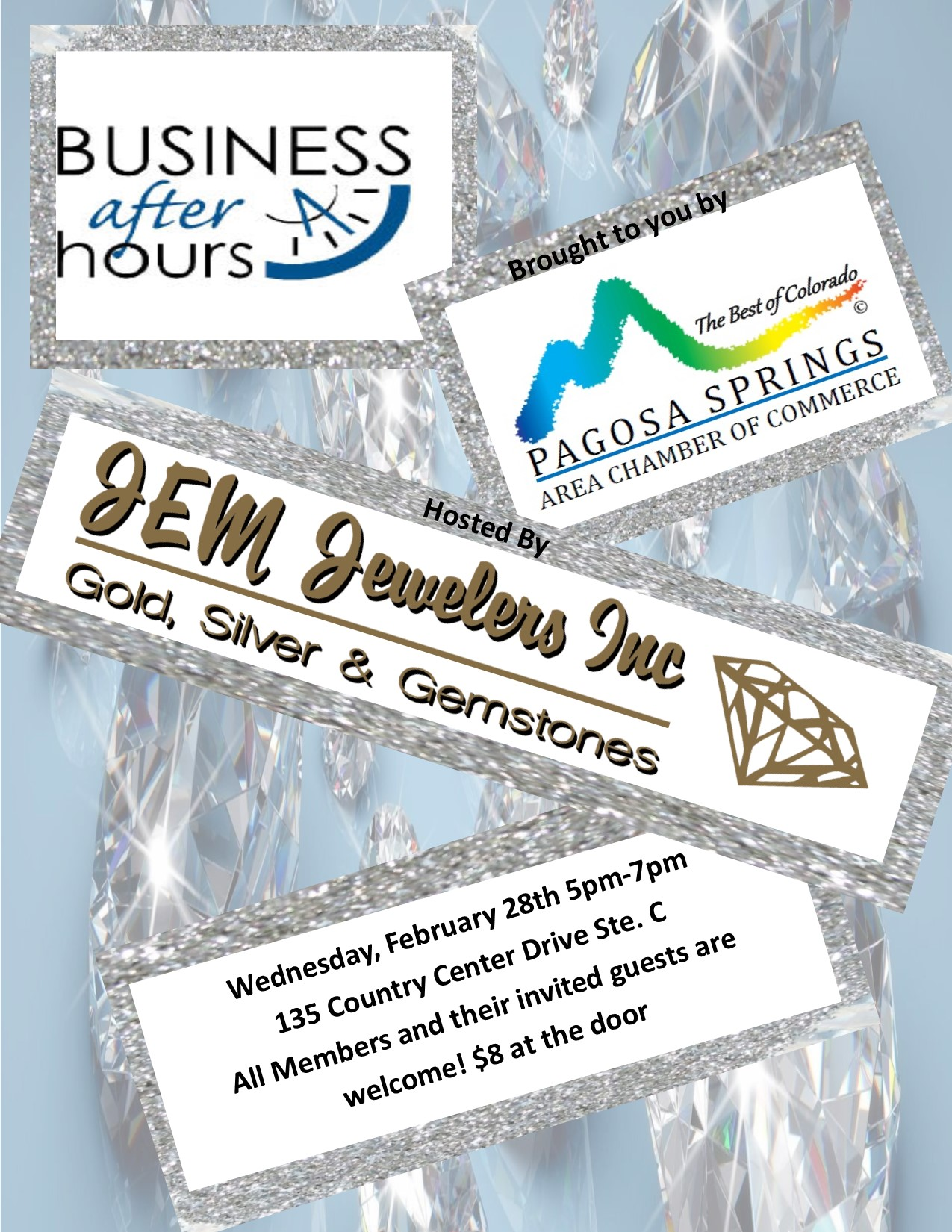 Business After Hours January 28th at JEM Jewelers