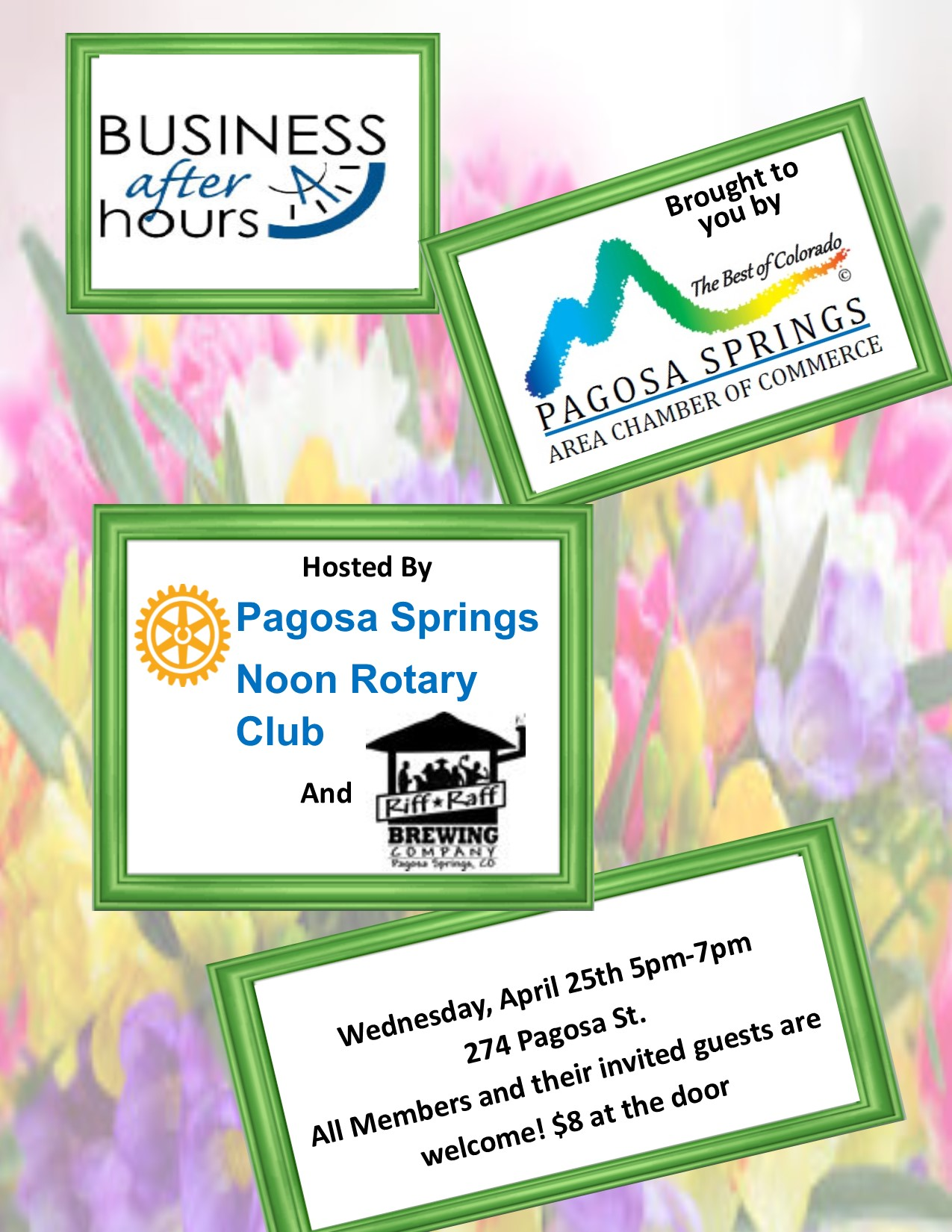 Business After Hours April 25th