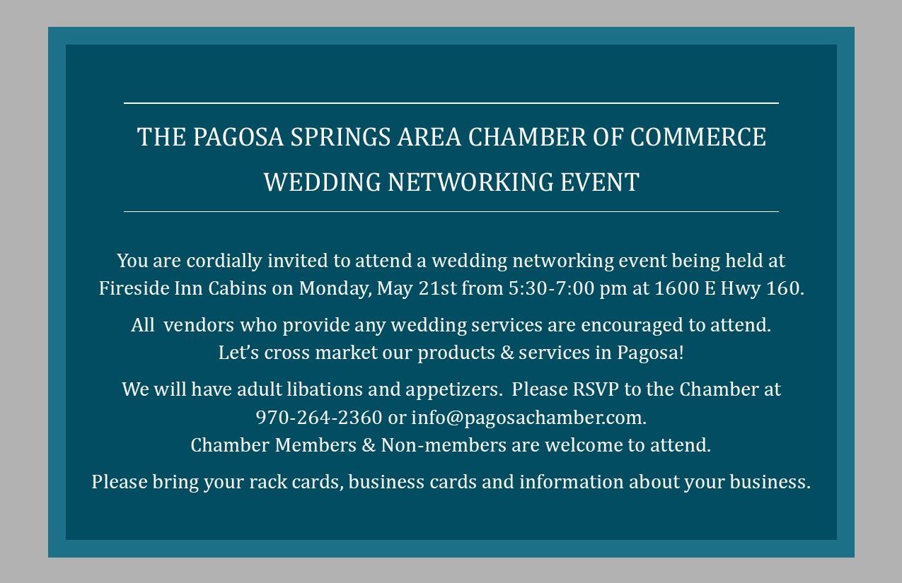 Wedding Networking Event