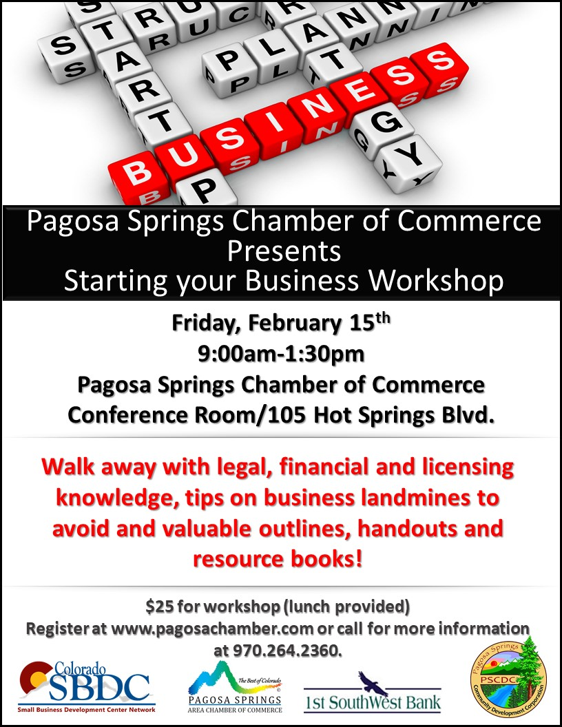 Starting Your Business Workshop