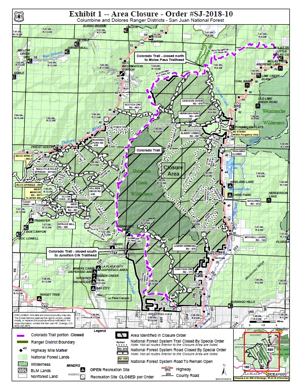 Forest Closure - Pagosa Springs Chamber