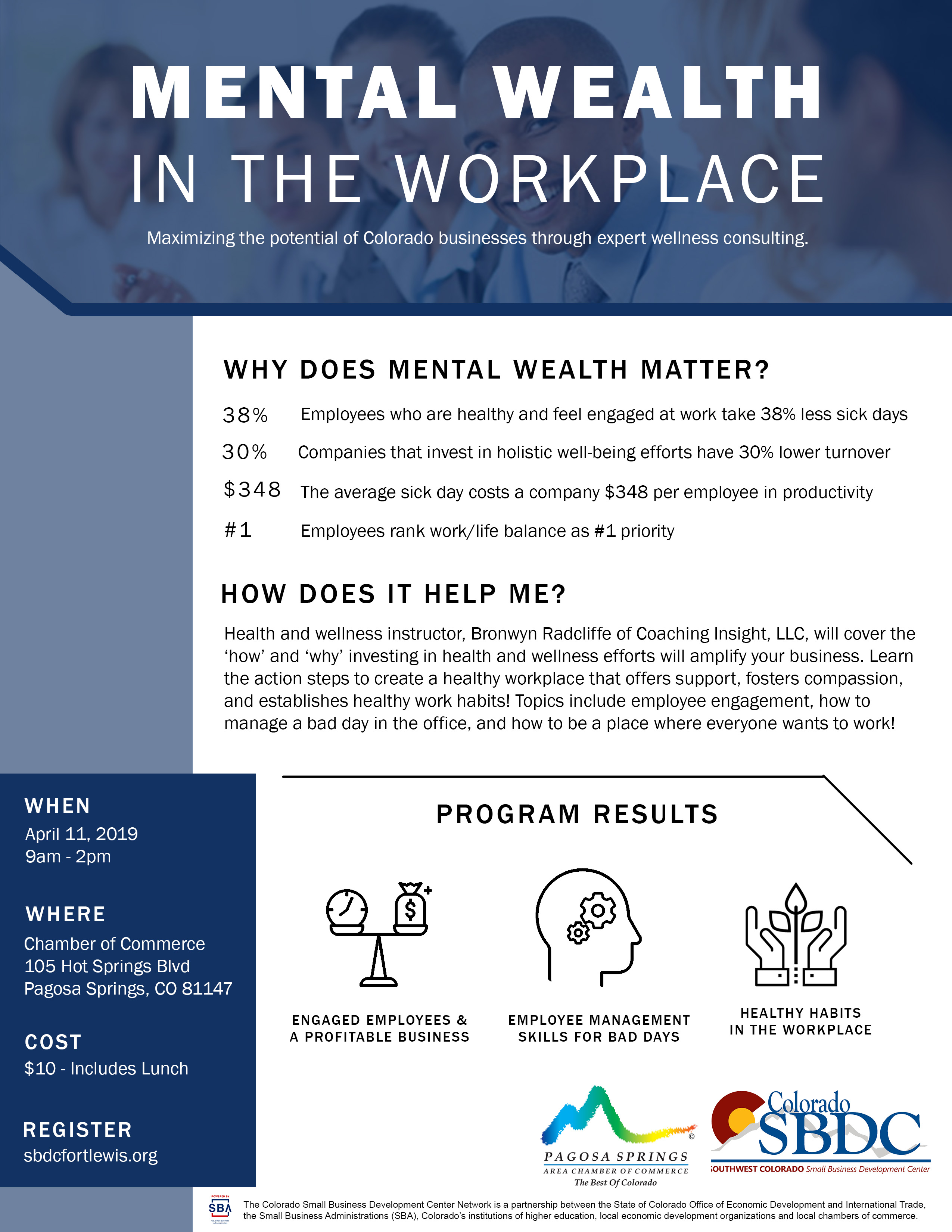 Mental Wealth in the Workplace