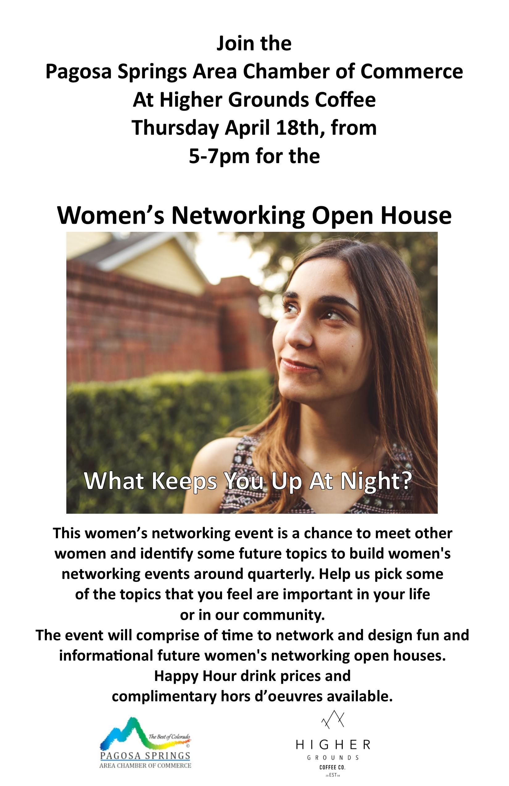 Women's Networking Open House