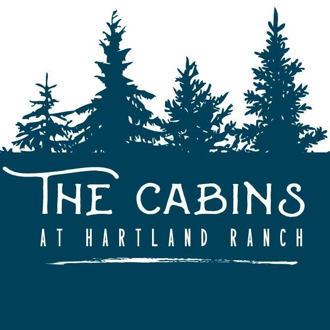 the cabins at hartland ranch logo